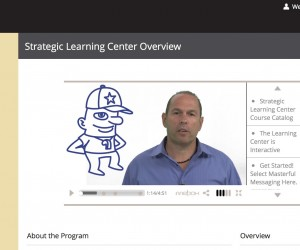 Learning Center Screen Grab